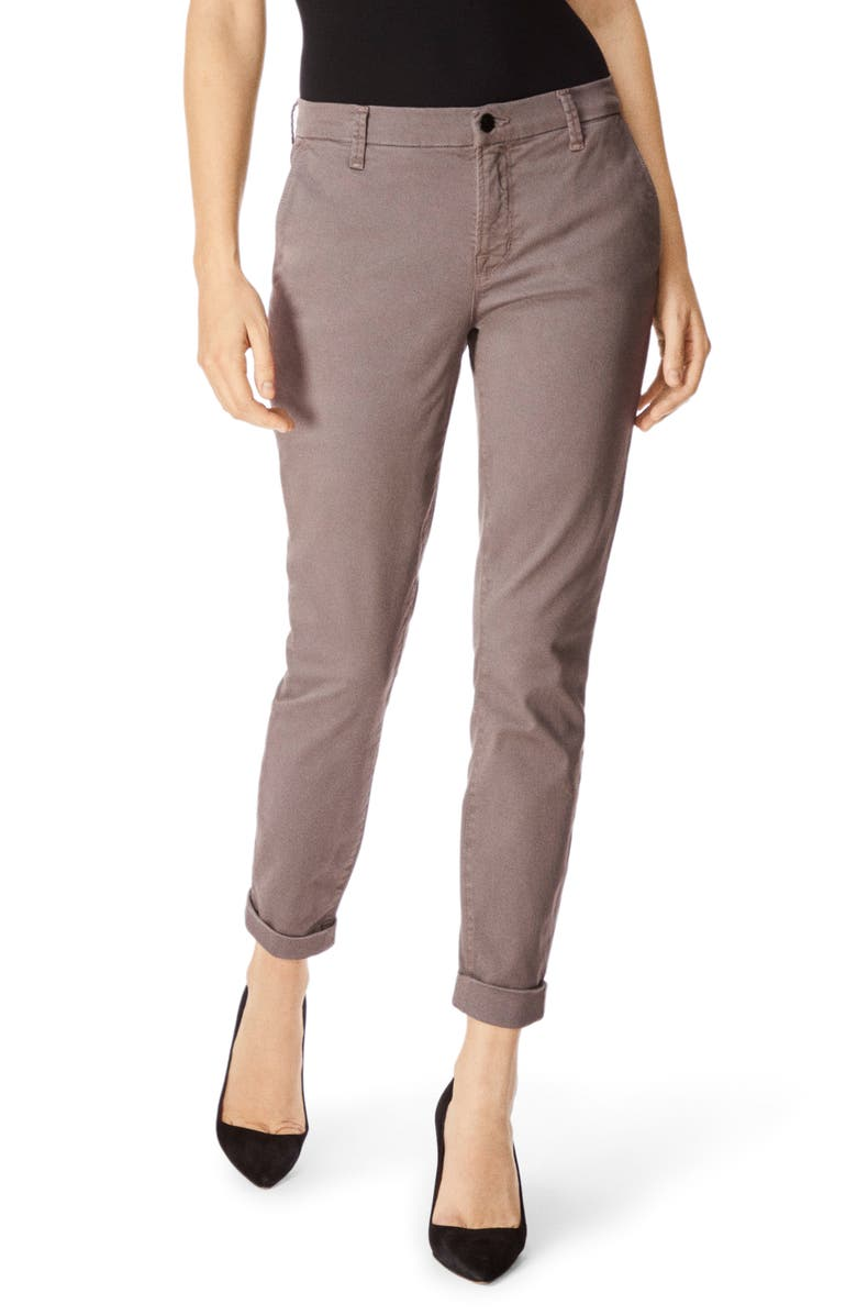 J BRAND Josie Tapered Trousers, Main, color, GALEXIA