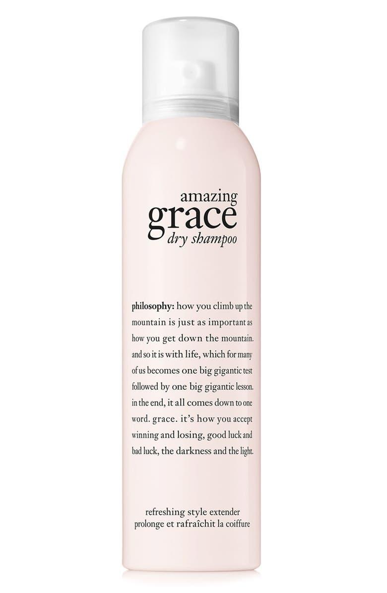 PHILOSOPHY amazing grace dry shampoo, Main, color, NO COLOR