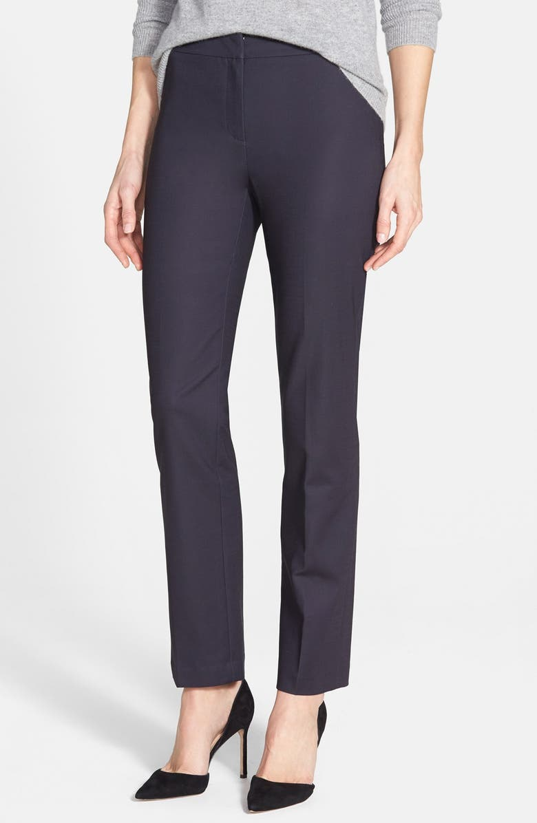NIC+ZOE The Perfect Ankle Pants, Main, color, MIDNIGHT
