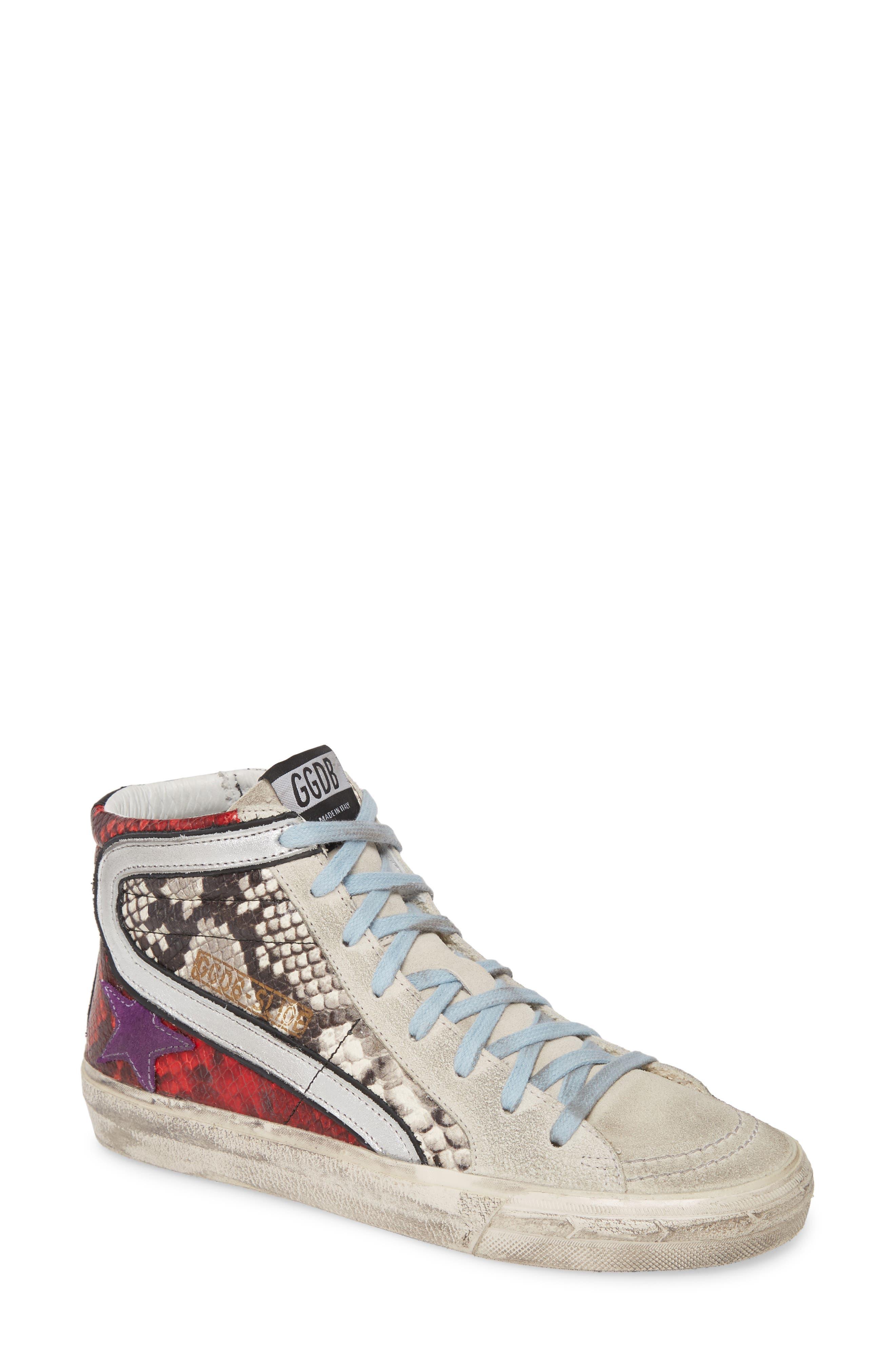 Golden Goose Slippers Slide High Top Sneaker