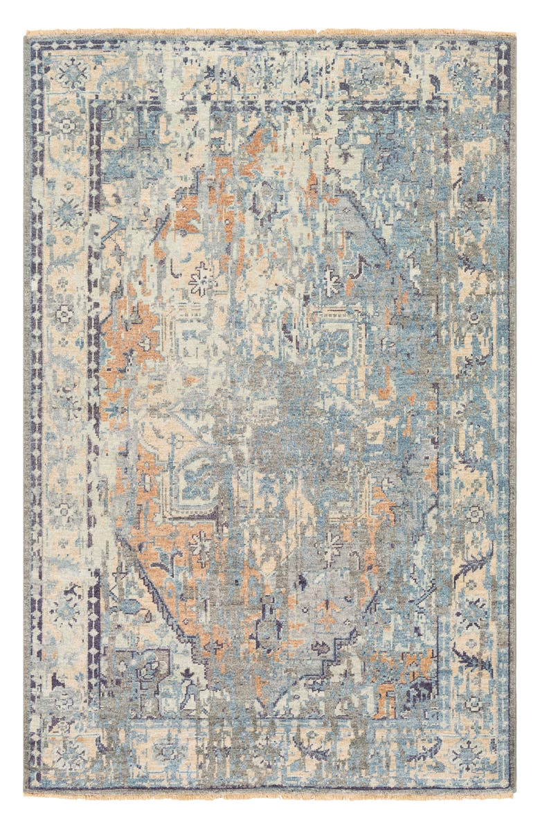 SURYA HOME Casa Hand Loomed Area Rug, Main, color, BLUE
