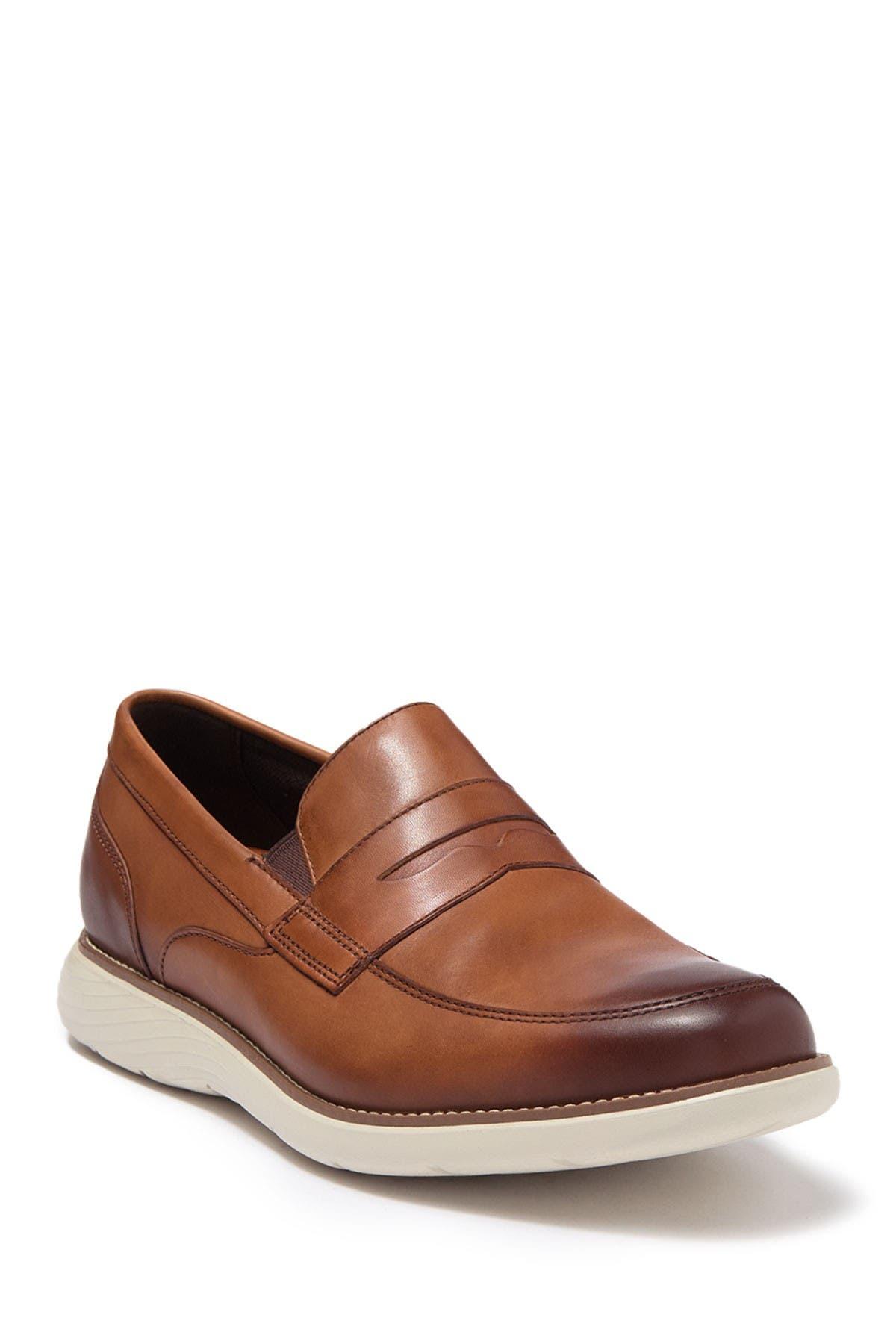 Rockport   Garett Leather Penny Loafer