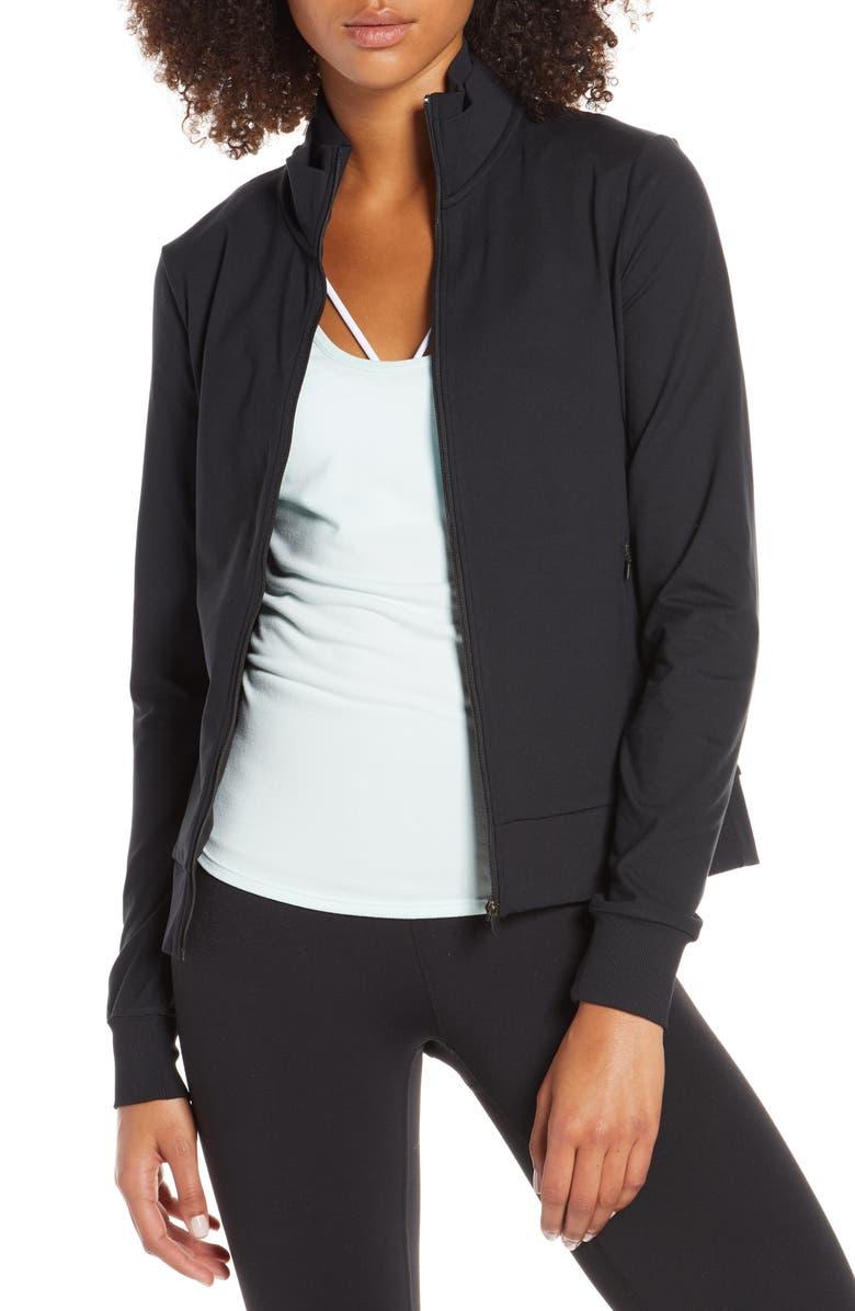 ZELLA Meg Lite Performance Jacket, Main, color, 001