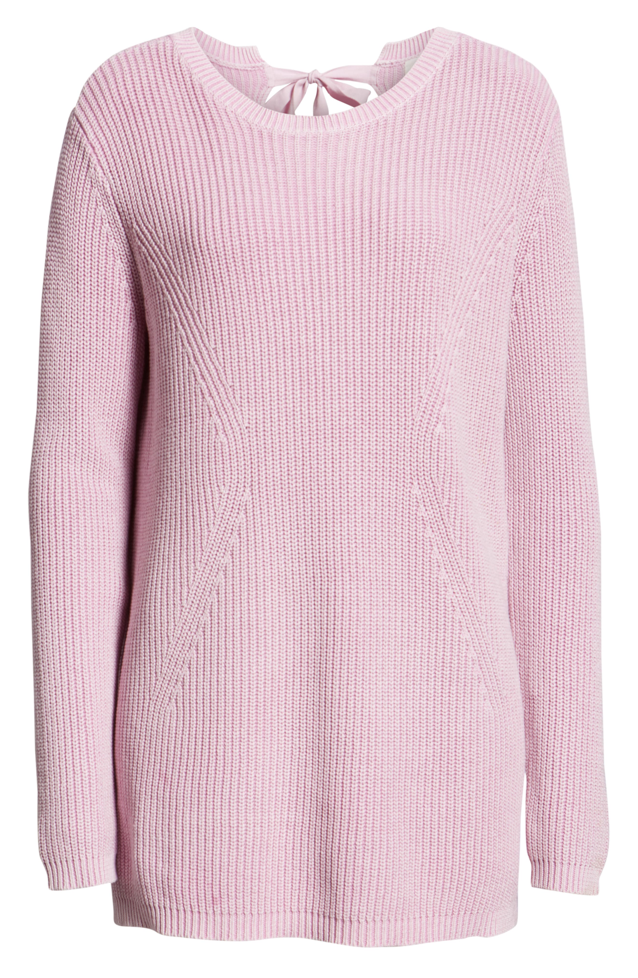 ,                             Tie Back Tunic Sweater,                             Alternate thumbnail 36, color,                             650