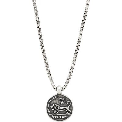 Degs & Sal Coin Pendant Necklace