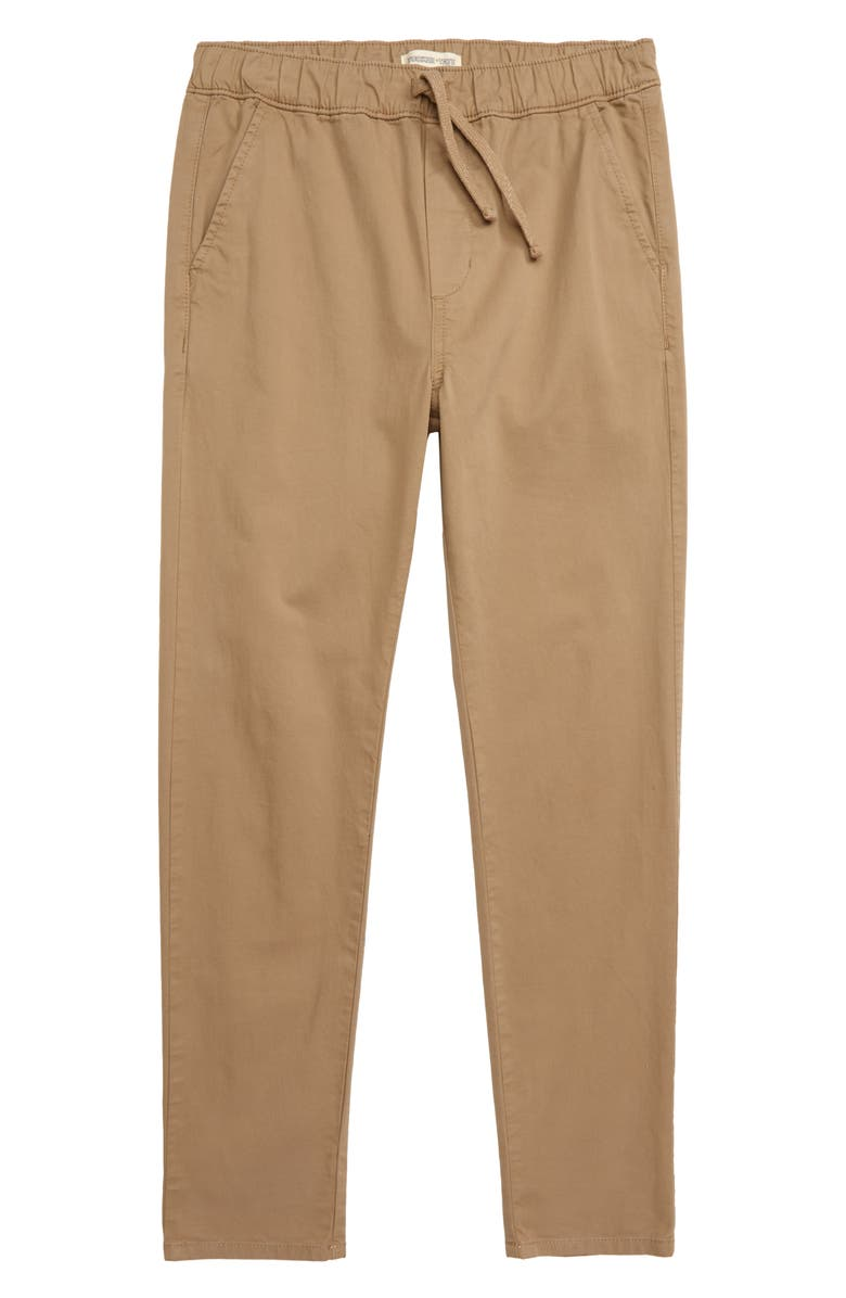 TUCKER + TATE All Day Everyday Relaxed Pants, Main, color, TAN LEAD