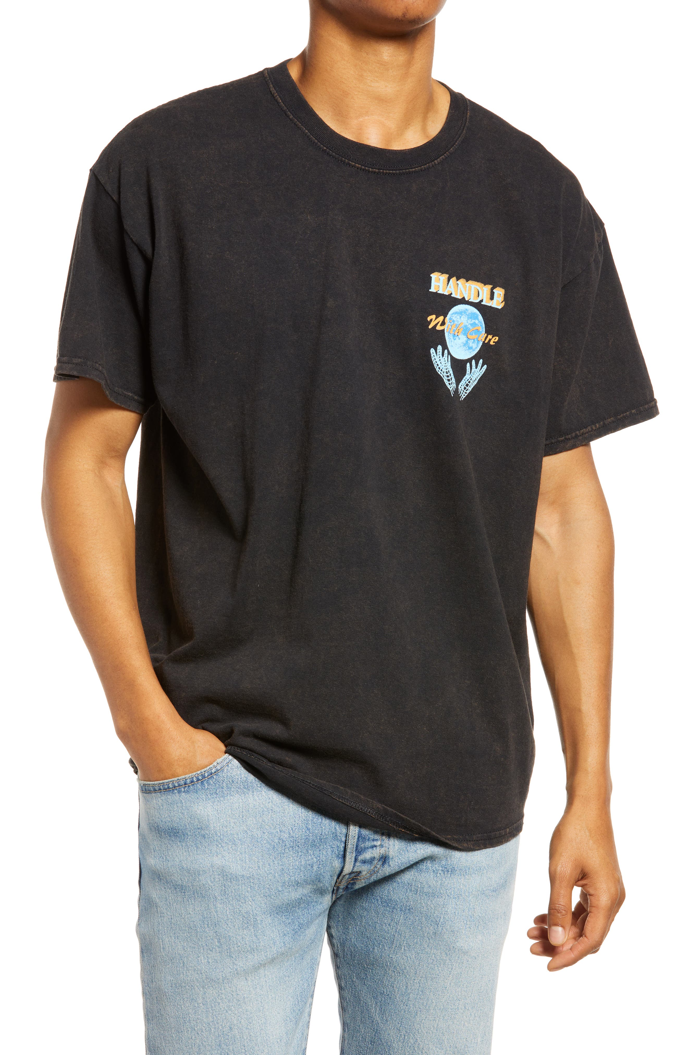 Men's Handle With Care Cotton Graphic Tee