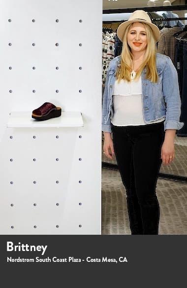 Myla Glitz Wedge Slide Sandal, sales video thumbnail