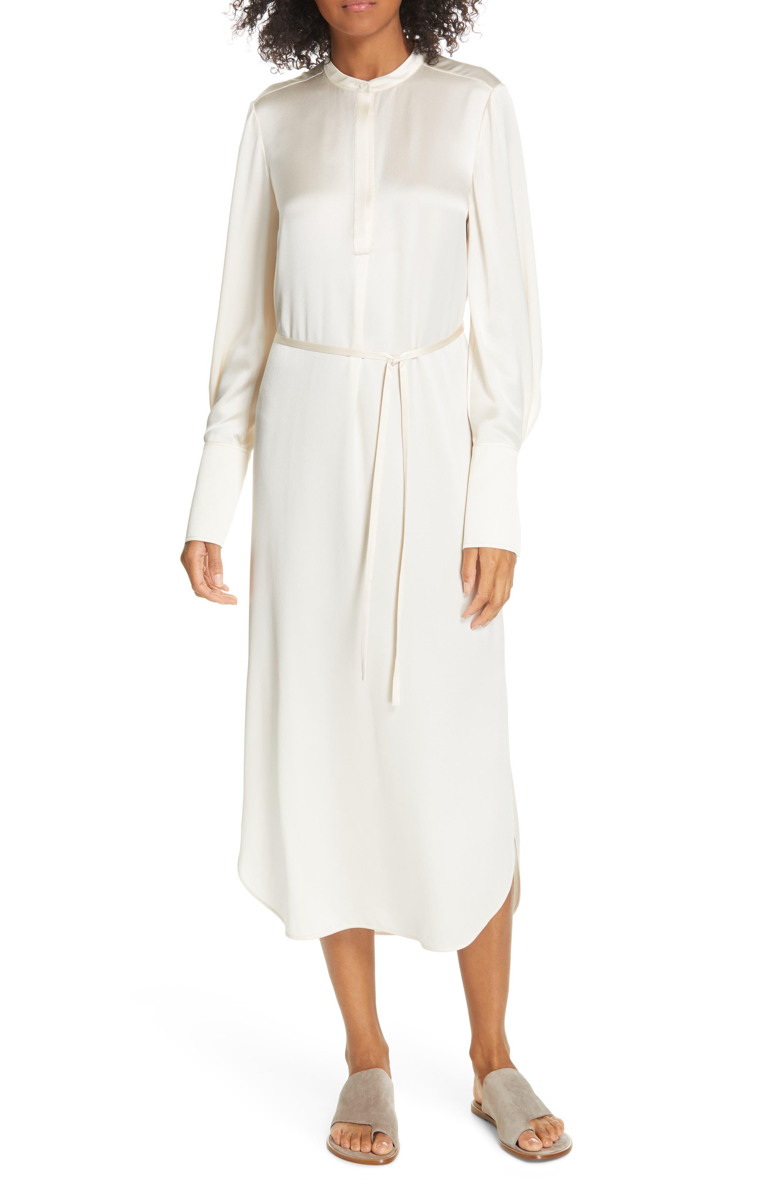 Silk Shirtdress, Main, color, CHIFFON