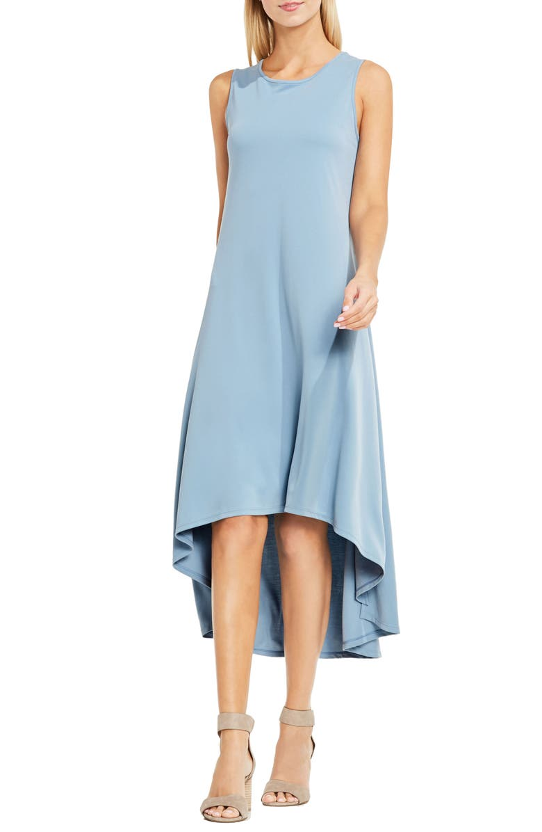 VINCE CAMUTO Jersey High/Low Hem Dress, Main, color, 408