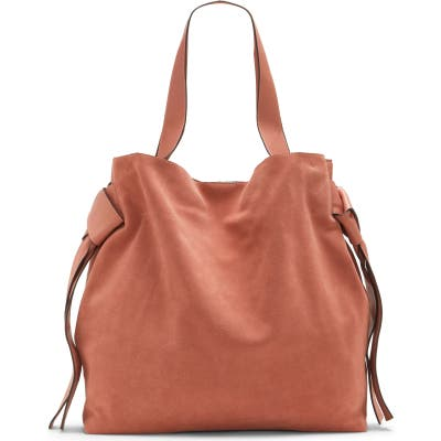 Vince Camuto Cyra Leather Tote - Pink
