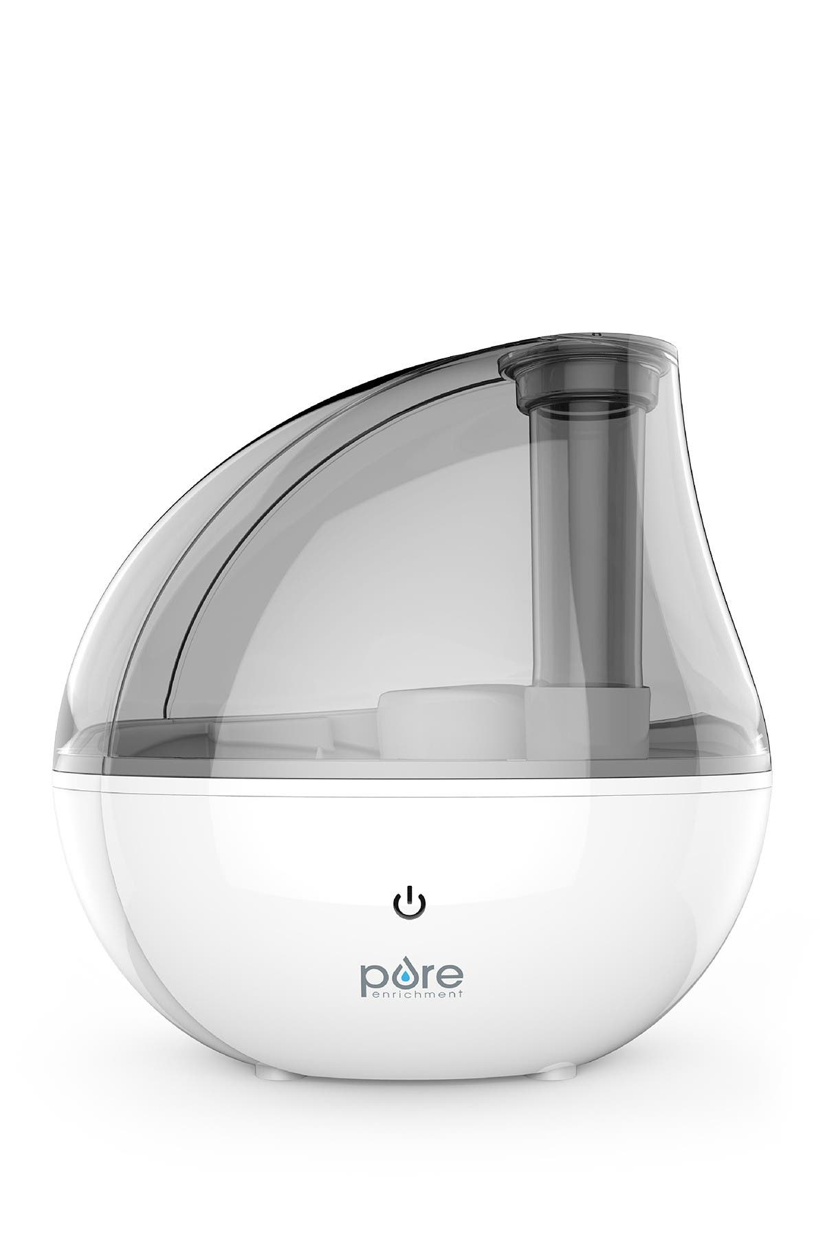 Image of PURE ENRICHMENT MistAire Silver Ultrasonic Cool Mist Humidifier