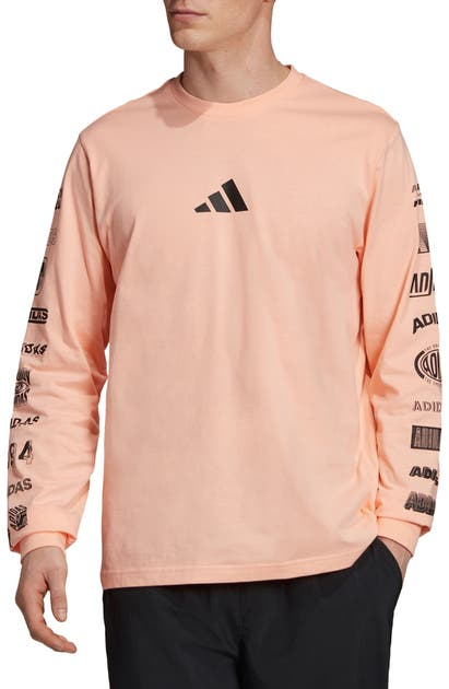 Adidas Originals Tops ATHLETICS PACK COTTON LONG SLEEVE T-SHIRT