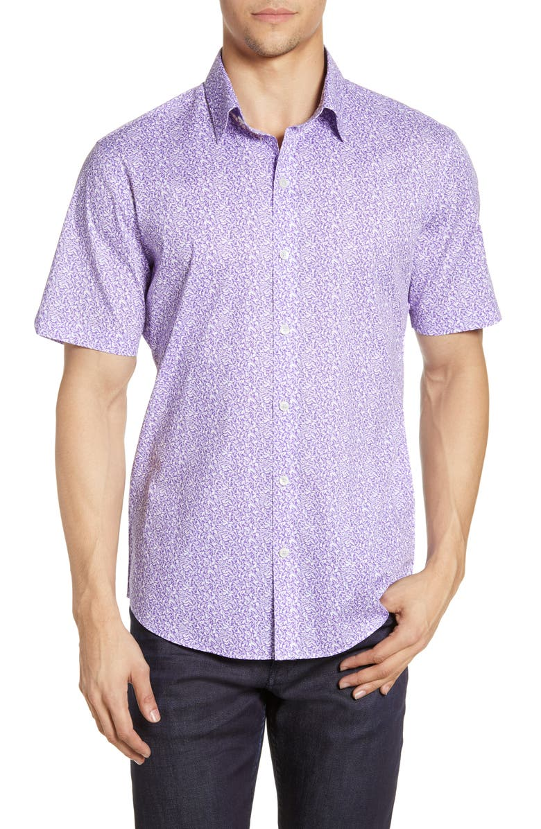 ZACHARY PRELL Rivera Regular Fit Shirt, Main, color, 500