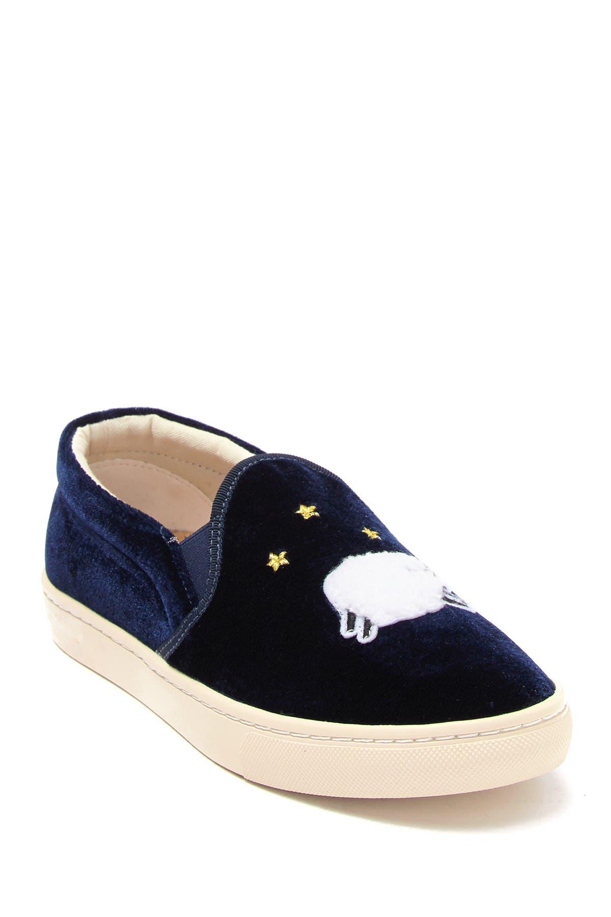 Soludos | Velvet Sheep Slip-On Sneaker