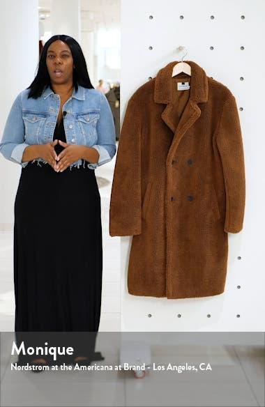 Faux Fur Long Teddy Coat, sales video thumbnail