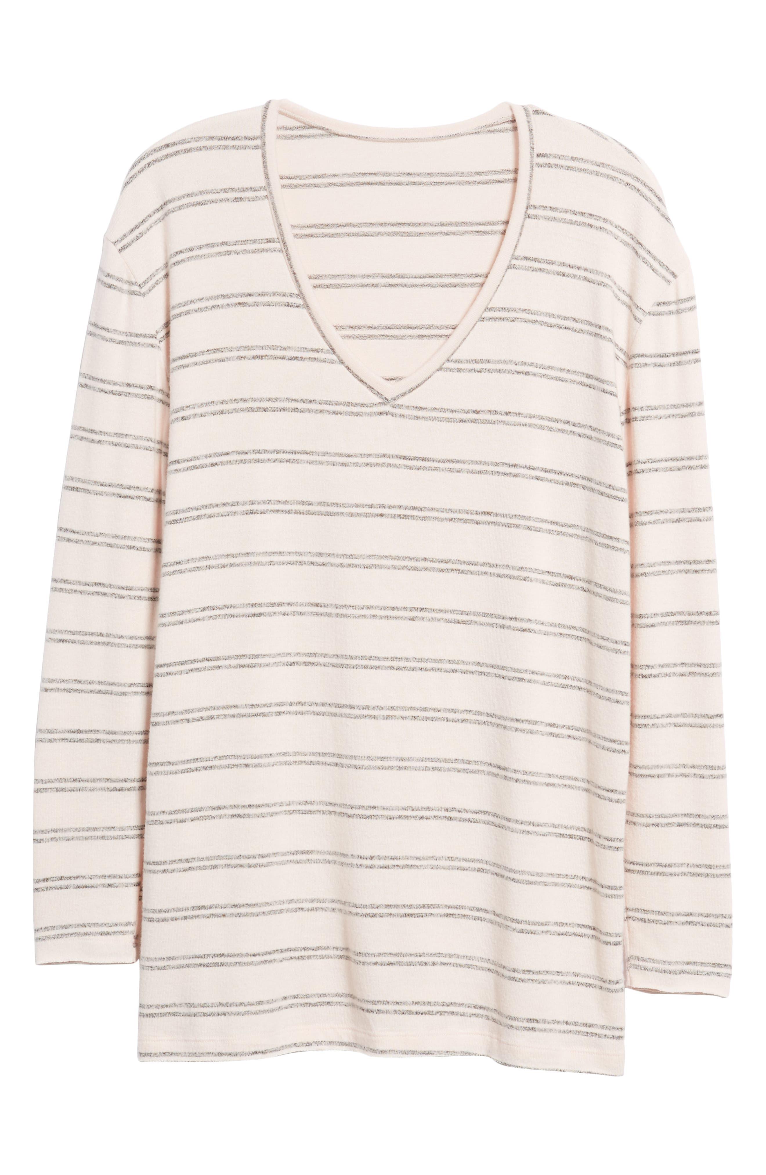 ,                             Cozy V-Neck Sweater,                             Alternate thumbnail 25, color,                             660