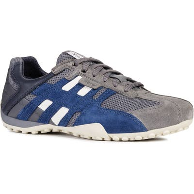Geox Uomo Snake 94 Sneaker, Grey