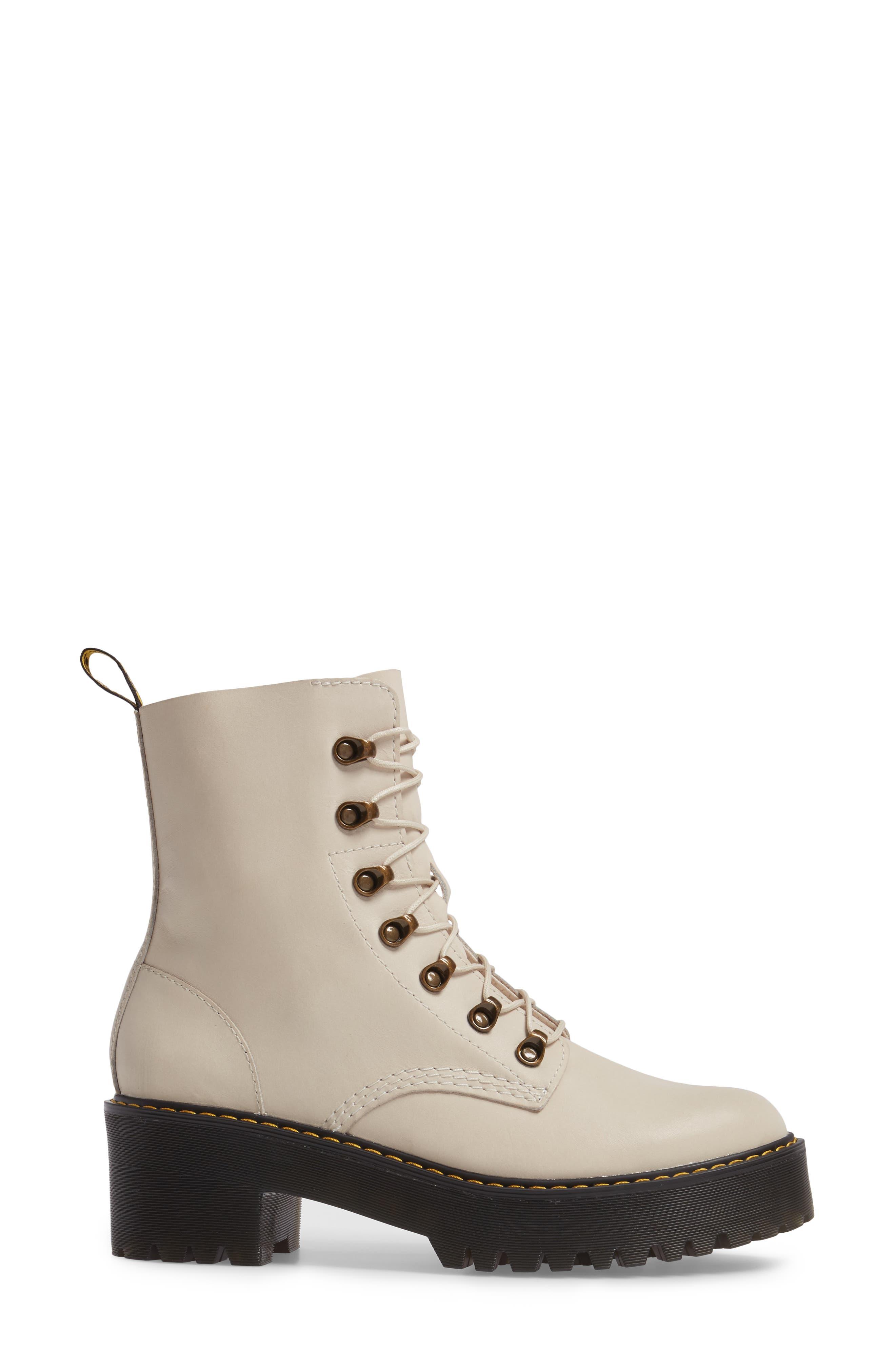 ,                             Leona Heeled Boot,                             Alternate thumbnail 9, color,                             115