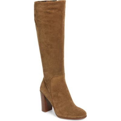 Kenneth Cole New York Justin Water Resistant Knee High Boot- Brown