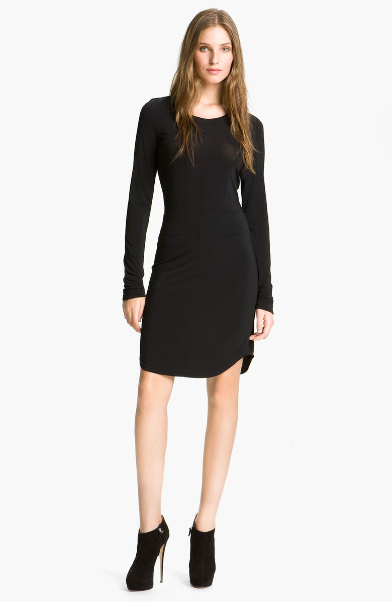 SEE BY CHLOÉ Seamed Jersey Dress, Main, color, 001