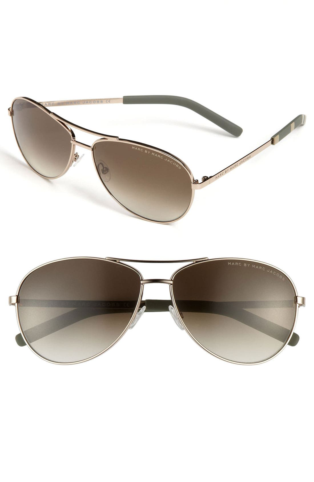 ,                             59mm Aviator Sunglasses,                             Main thumbnail 4, color,                             710