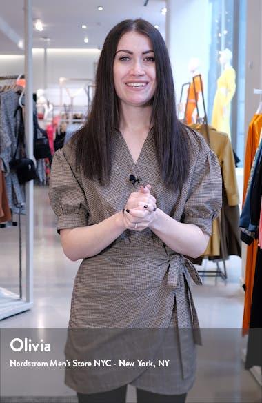 Bustier Crepe A-Line Dress, sales video thumbnail