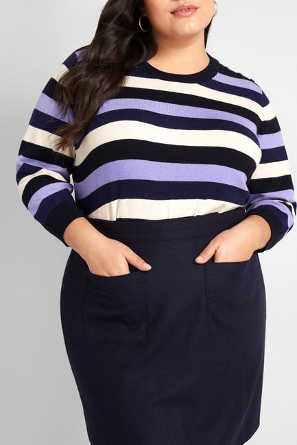 Image of MODCLOTH Charter School Striped Sweater