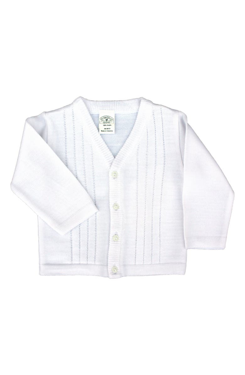 LITTLE THINGS MEAN A LOT Cardigan, Main, color, WHITE