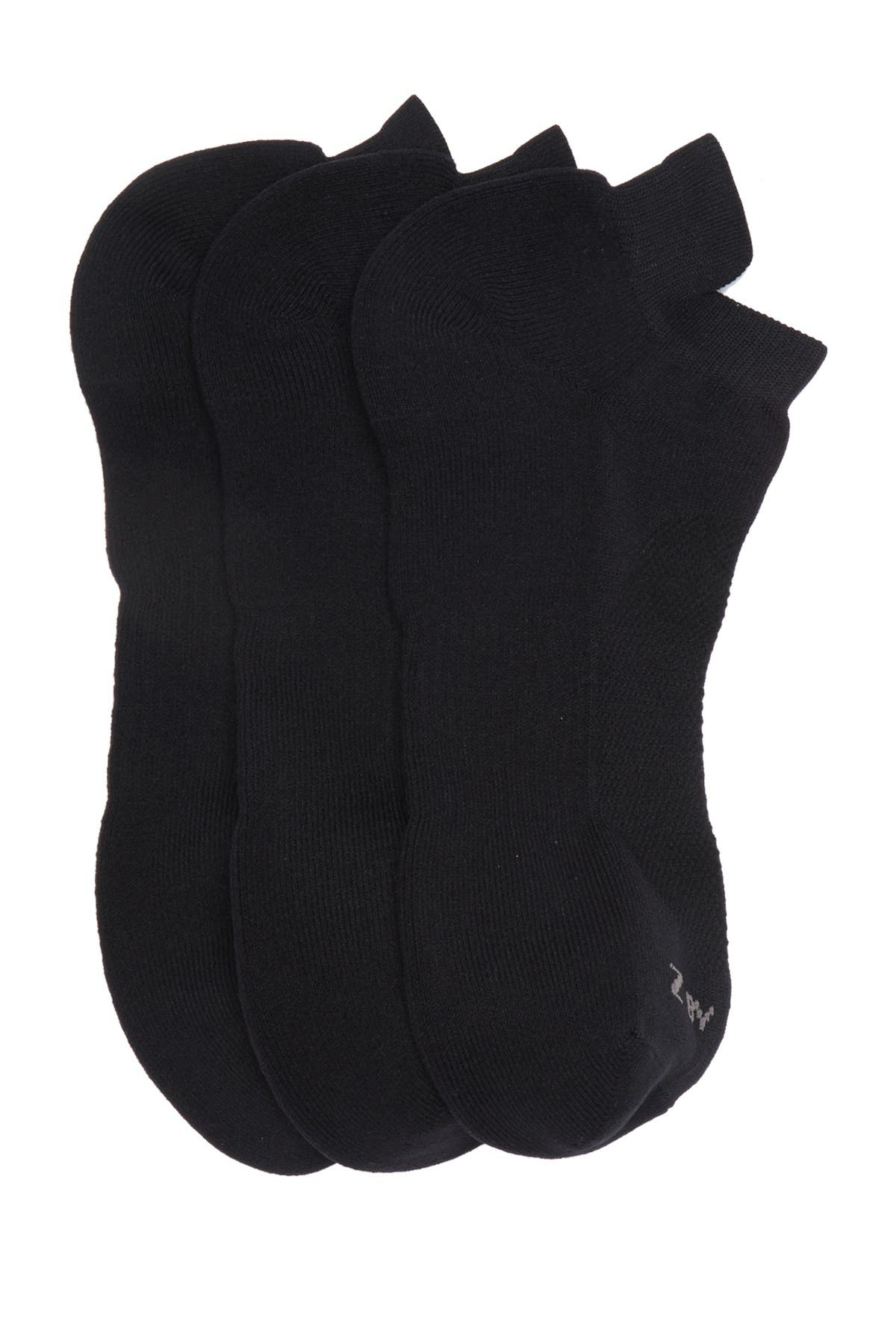 Image of Z By Zella Performance Tab Back Ankle Socks - Pack of 3