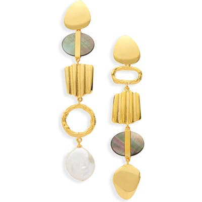 Lizzie Fortunato Treasure Hunt Mismatched Earrings