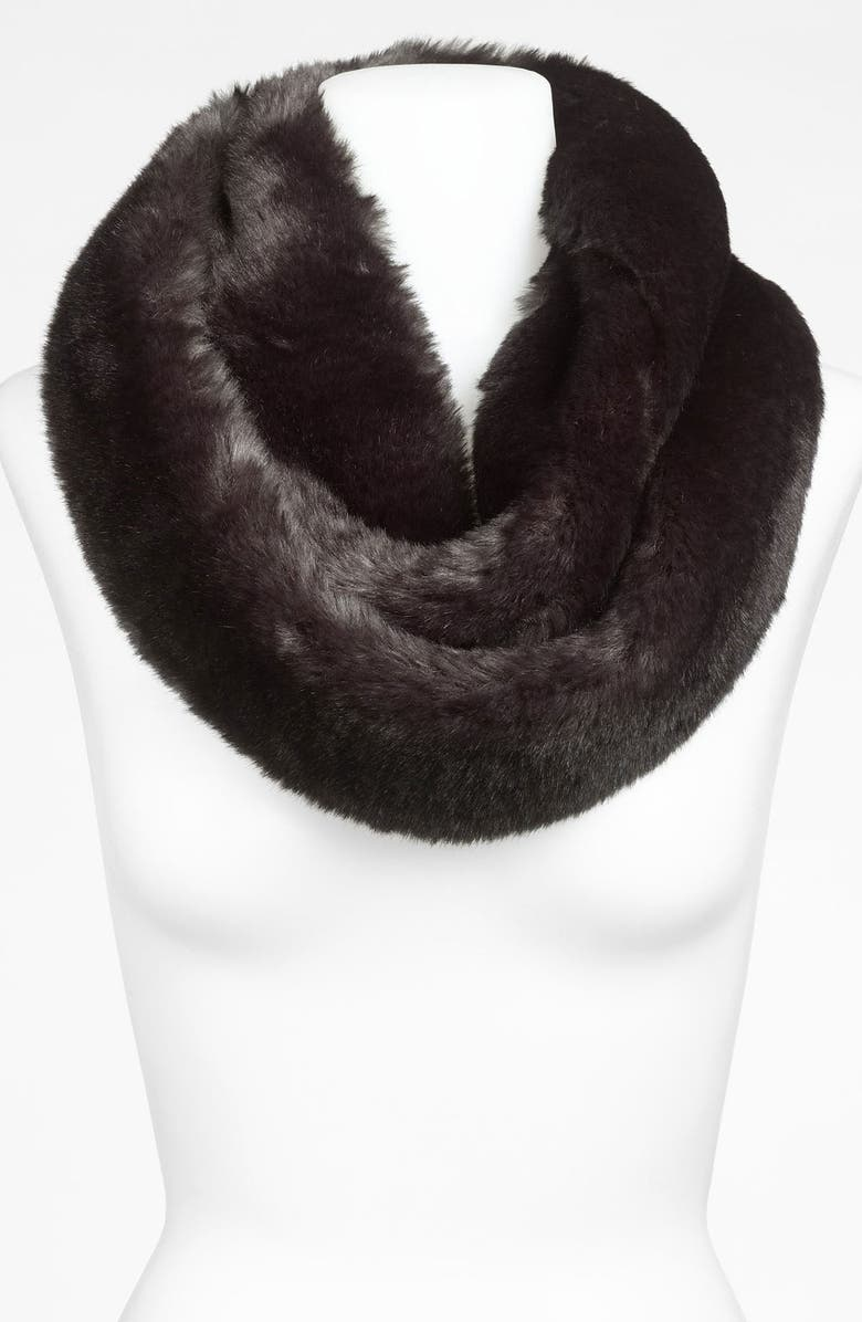 HALOGEN<SUP>®</SUP> Faux Fur Infinity Scarf, Main, color, 020