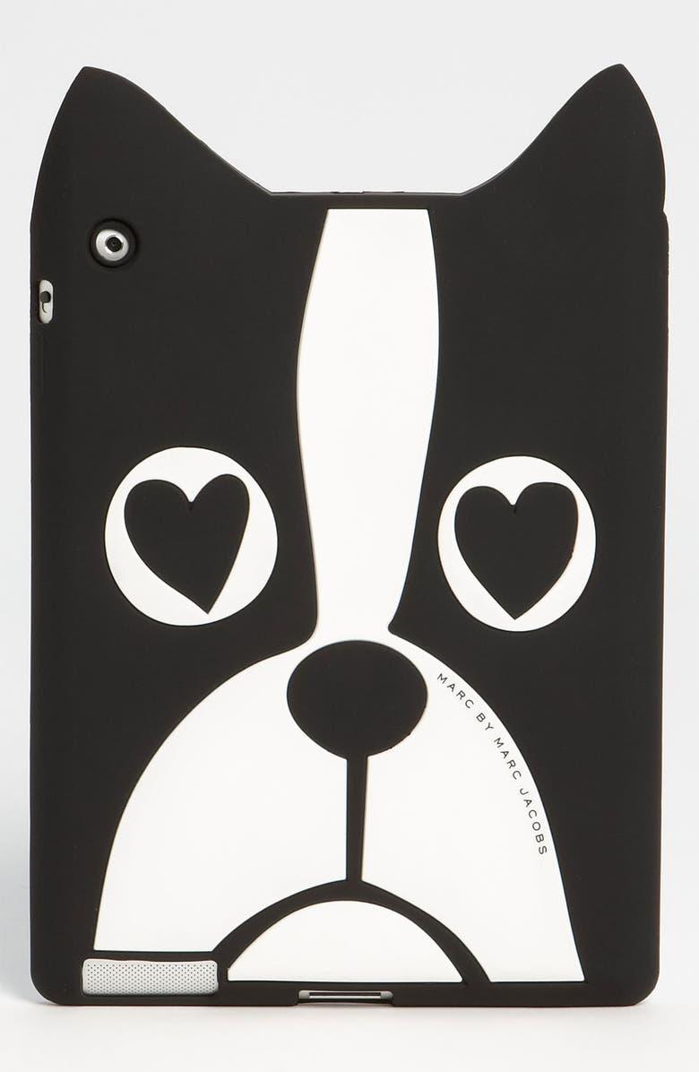 MARC JACOBS MARC BY MARC JACOBS 'Shorty the Boxer' iPad Case, Main, color, Black