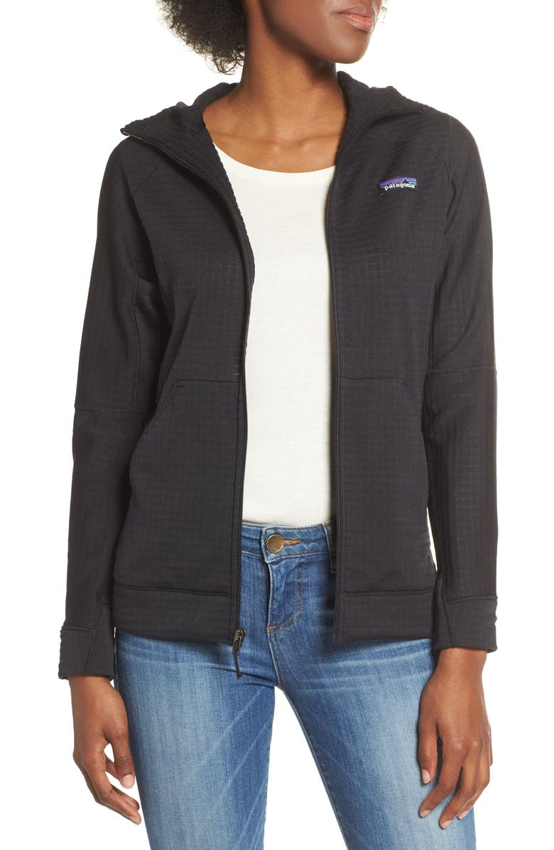 PATAGONIA R1<sup>®</sup> Performance Zip Sweater, Main, color, 001
