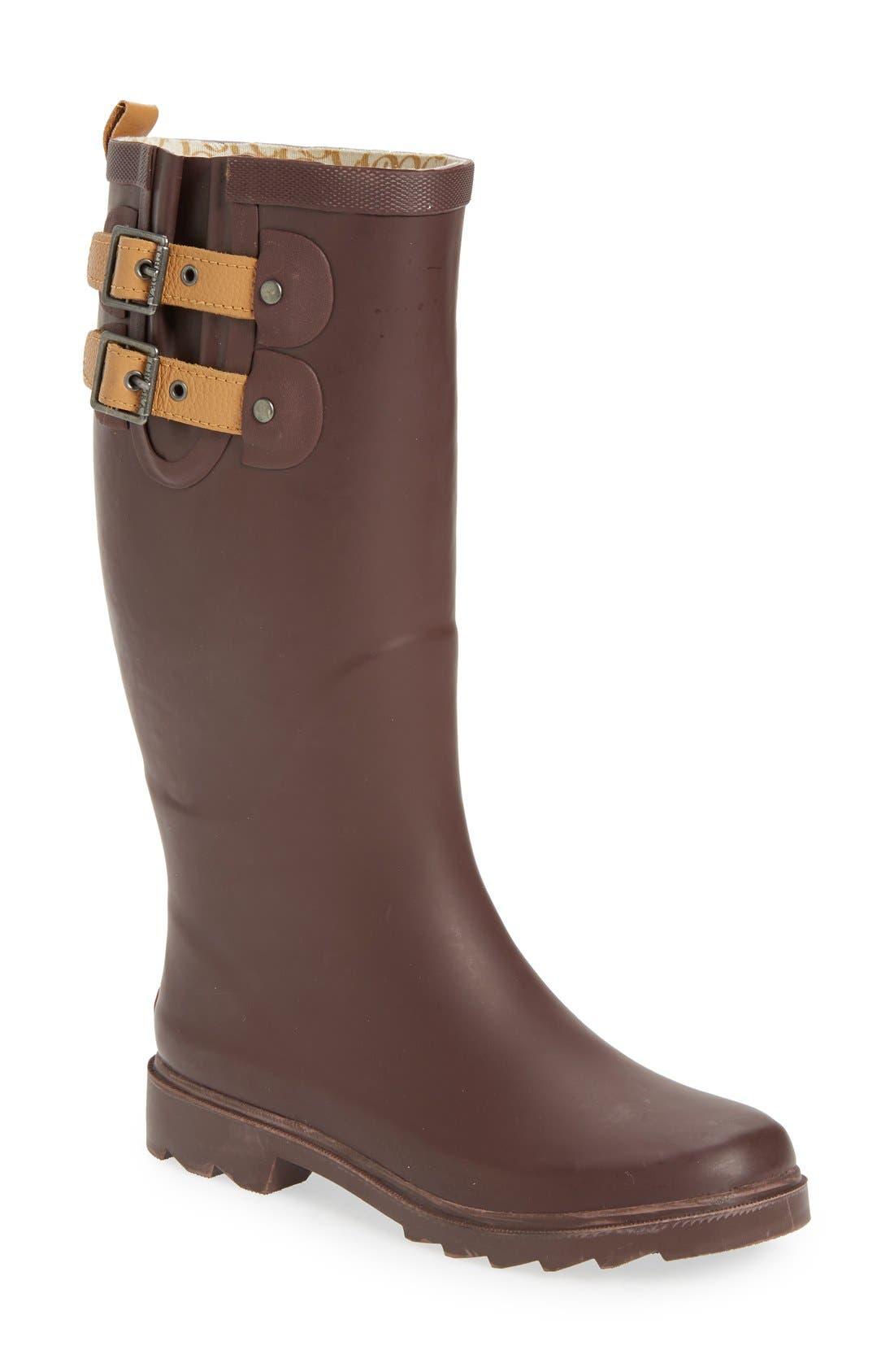 ,                             'Top Solid' Rain Boot,                             Main thumbnail 161, color,                             934