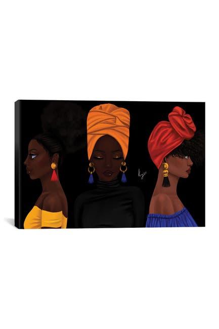 Image of iCanvas Girls by Princess Karibo