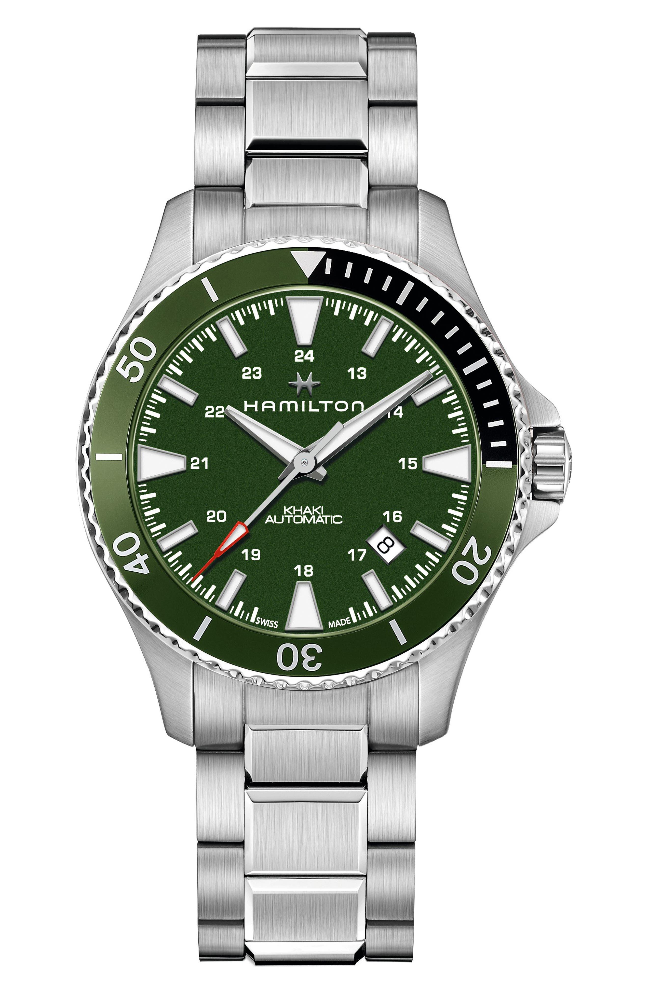 Khaki Navy Scuba Automatic Bracelet Watch