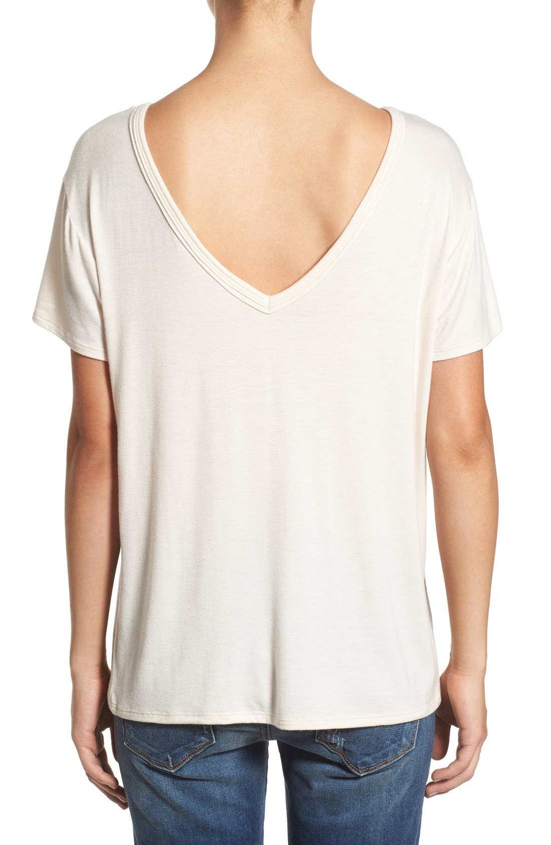 ,                             Cross Front Tee,                             Alternate thumbnail 17, color,                             250