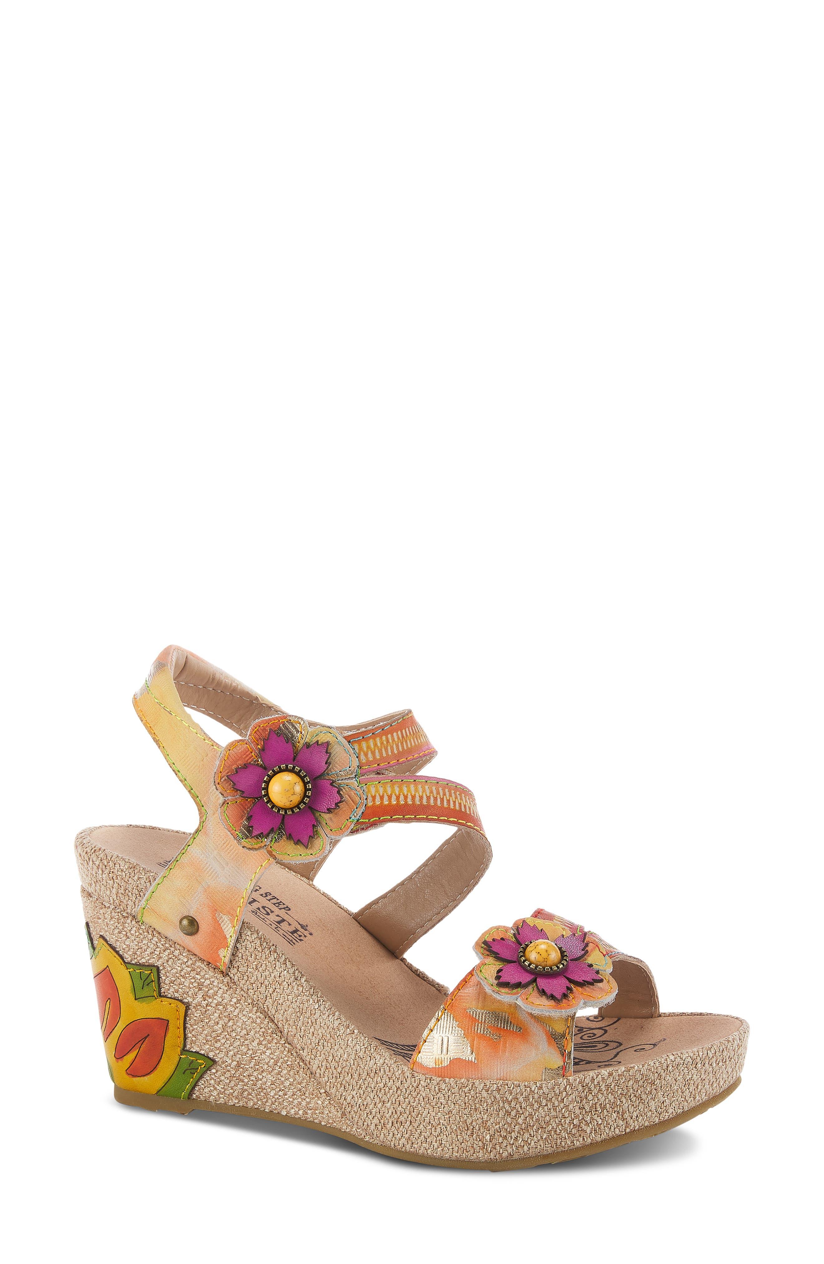 Karnit Platform Sandal