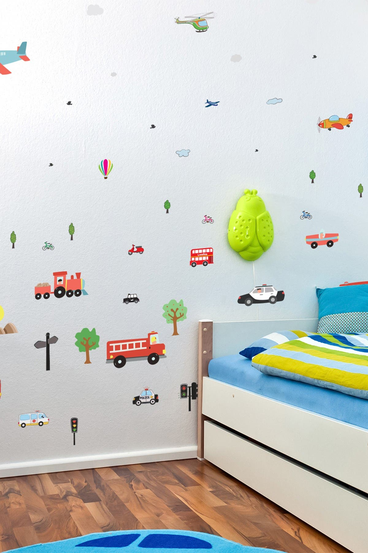 Image of WalPlus A Little Boy's Dream Wall Stickers - 140 Pack