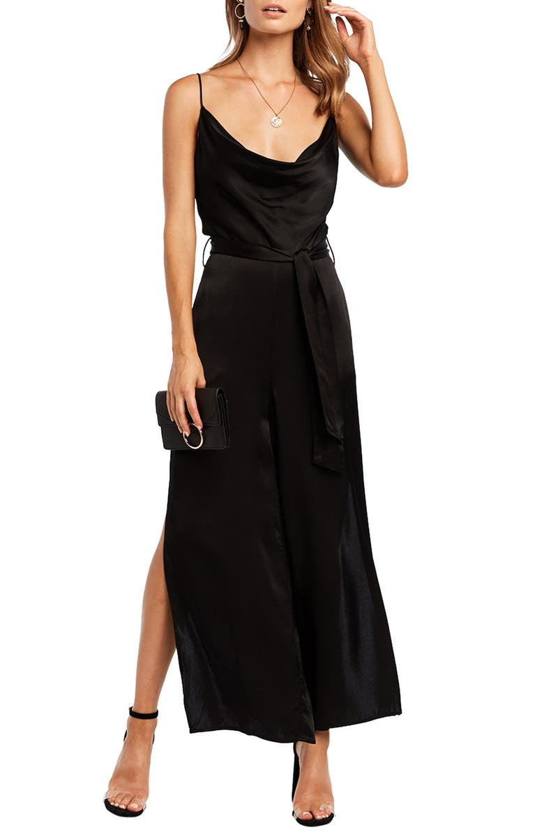 Cowl Neck Jumpsuit by Bardot