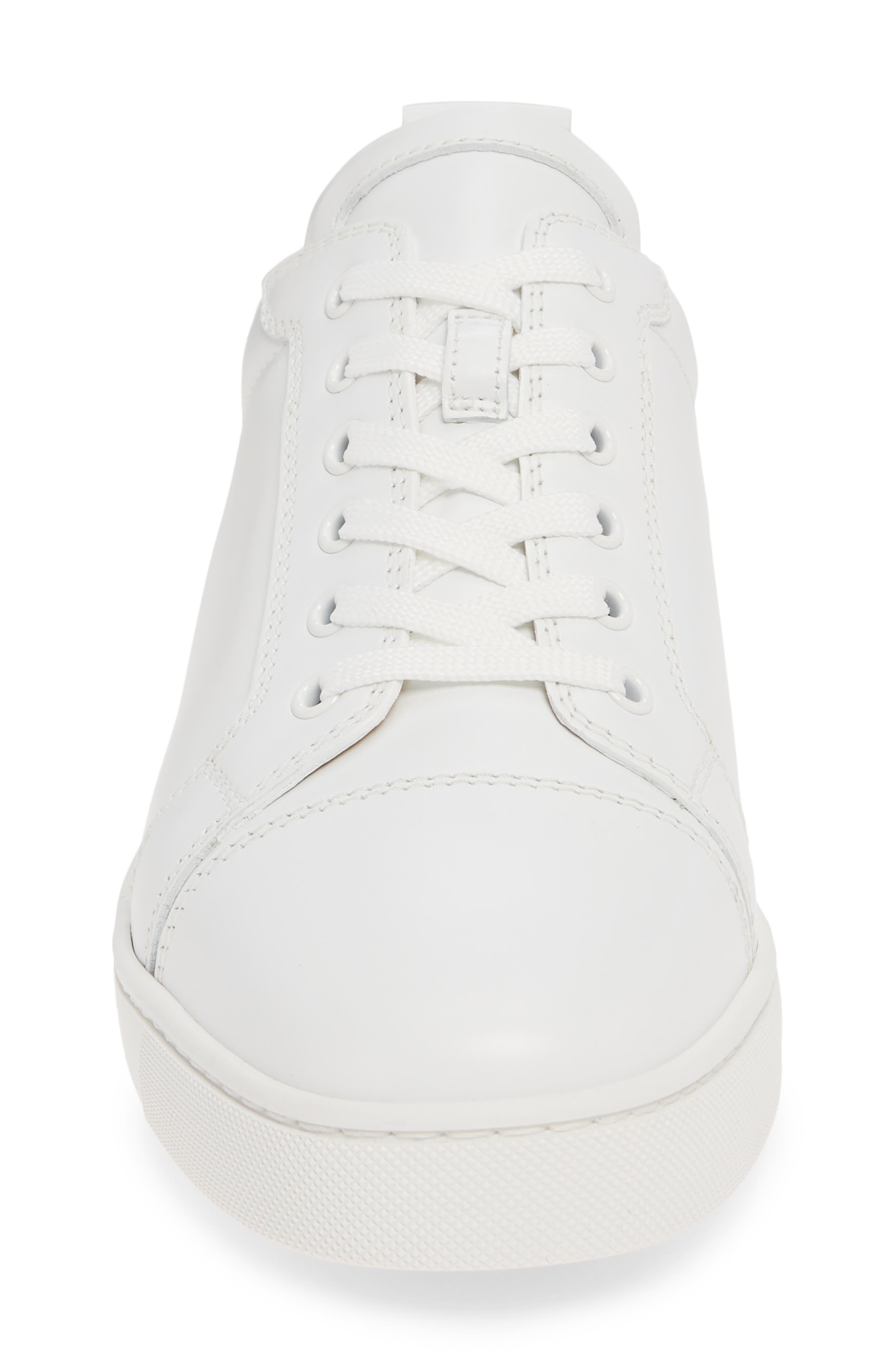 ,                             Louis Junior Low Top Sneaker,                             Alternate thumbnail 4, color,                             WHITE