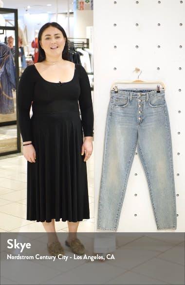 x WeWoreWhat The Danielle High Waist Jeans, sales video thumbnail