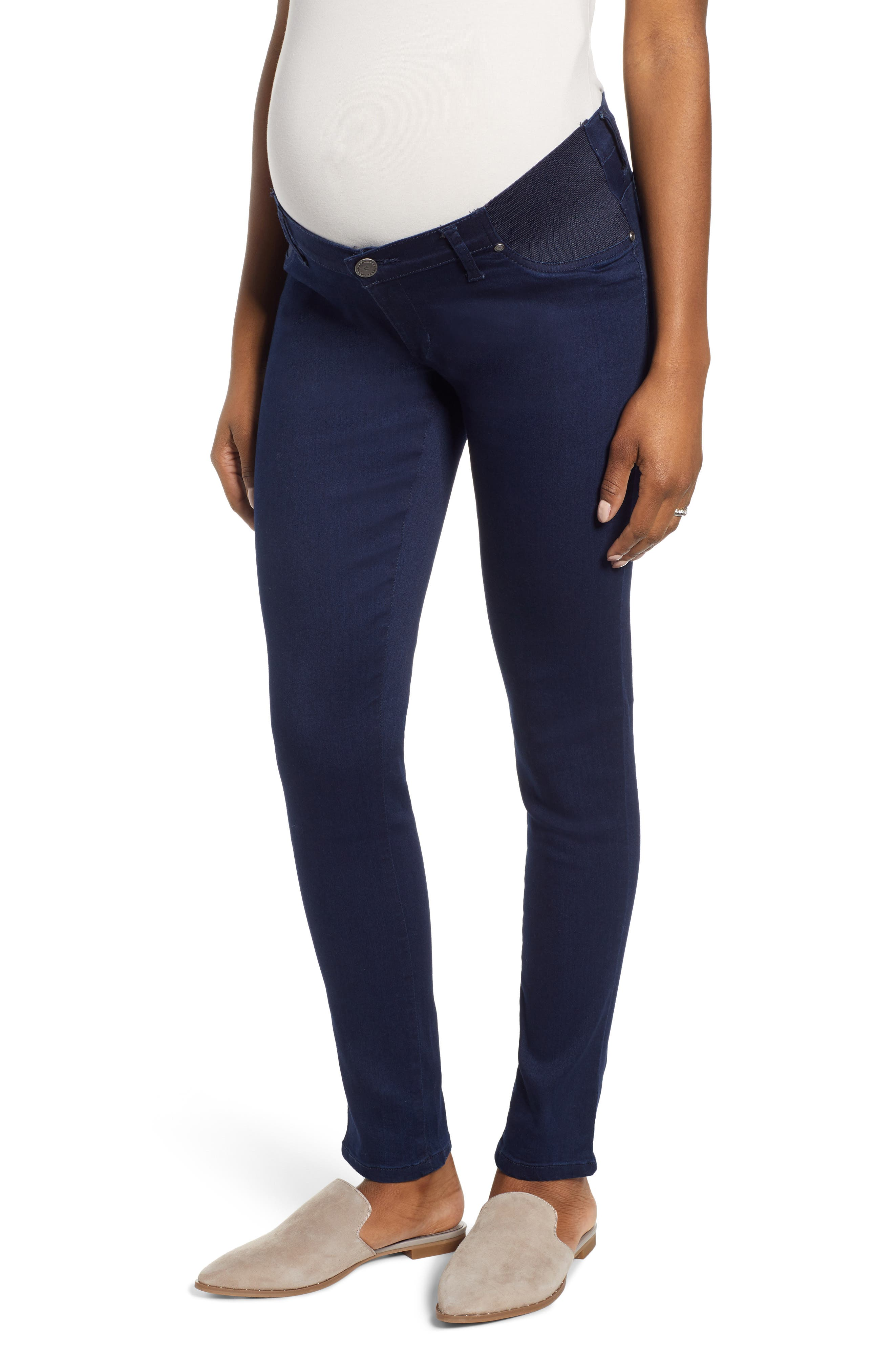b96c0fa362388 Women's Angel Maternity Comfortable Stretch Maternity Jeans