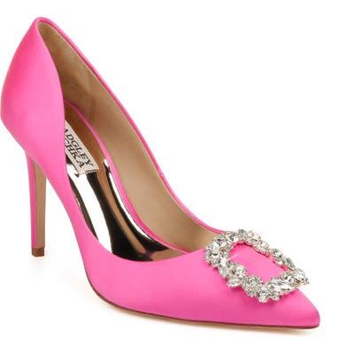 Badgley Mischka Cher Crystal Embellished Pump- Pink