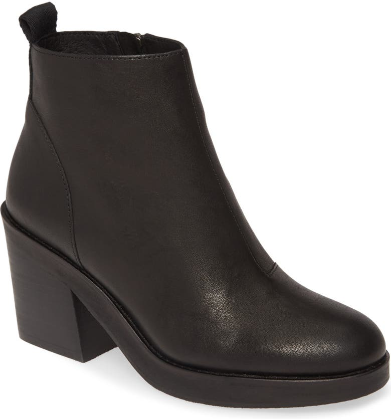 EILEEN FISHER Ozma Bootie, Main, color, BLACK LEATHER