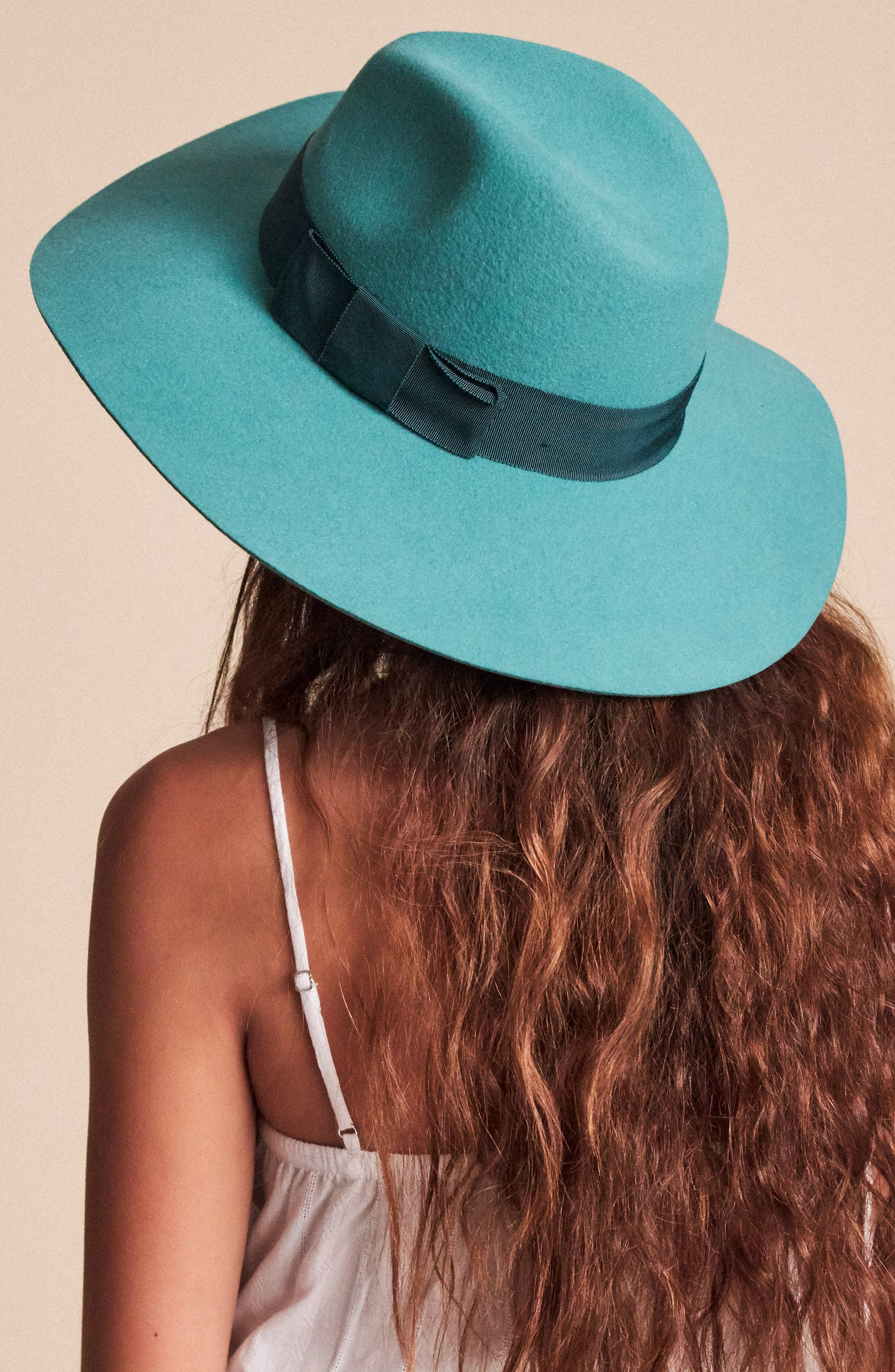 Brixton Slippers 'Piper' Floppy Wool Hat