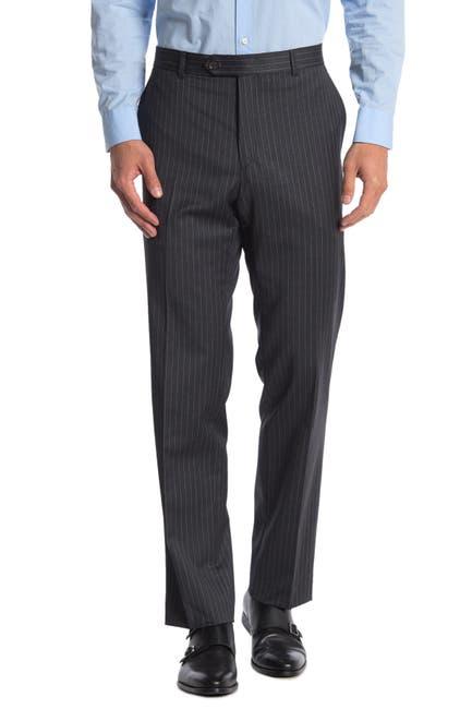 Image of Tommy Hilfiger Slim Fit Pinstripe Wool Blend Suit Seperate Pants