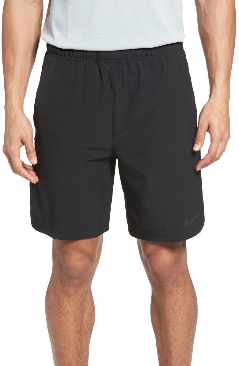 NIKE Flex Vent Training Shorts, Main, color, 010