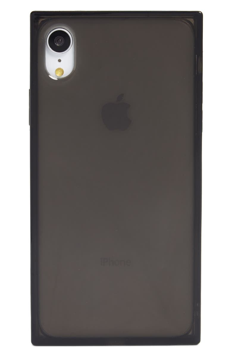 RECOVER Squared Black iPhone X/Xs, Xs Max & XR Case, Main, color, BLACK